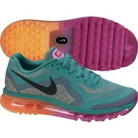 Nike Women's Air Max 2014 Running Shoe - Green/Pink/Orange | DICK'S Sporting Goods