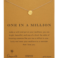 One in a Million Gold-Dipped Necklace - Dogeared - Gold
