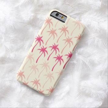 Palm Trees #2 - Cream iPhone 6 Case