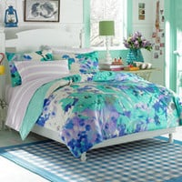 Teen Vogue Watercolor Garden Twin Comforter Set - Bed Bath &amp; Beyond