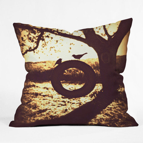 DENY Designs Home Accessories | Shannon Clark Love At First Swing Throw Pillow