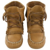 SoftMoc Women's 2151 moose cork bootie TPR sole moccasins 2151 CORK