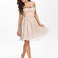 Rouched Babydoll Dress