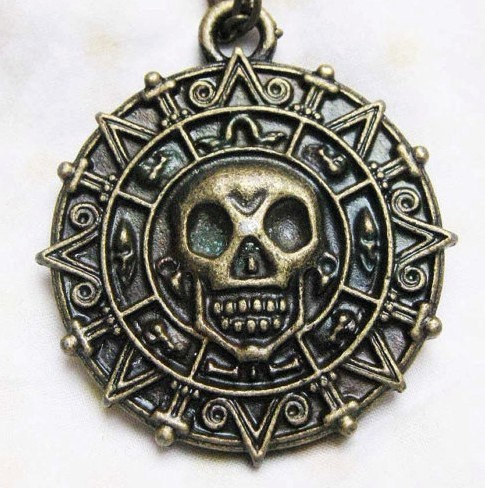 Cursed Pirate Doubloon Necklace
