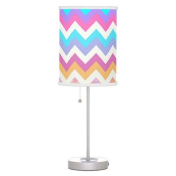Spring #2 - Chevron Lamp