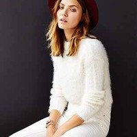 Silence + Noise Shaggy Mock-Neck Sweater - Urban Outfitters