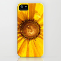 FLOWER OF THE SUN iPhone & iPod Case by Catspaws | Society6