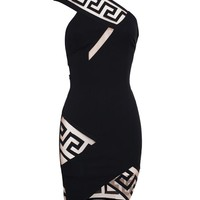 VERSUS | Geometric Mesh Panel Dress | Browns fashion & designer clothes & clothing