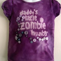 Tied Dyed Gothic T Shirt Purple Siz.. on Luulla