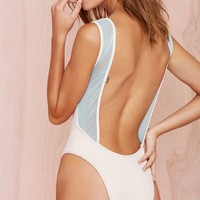 Nasty Gal x Minimale Animale The Pass Swimsuit