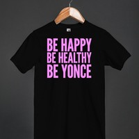 Be Yonce | T-shirt | Skreened