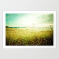 Beach Times Art Print by Joy StClaire | Society6