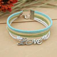 Bracelet-Love bracelet-vintage love bracelet-True love will go on