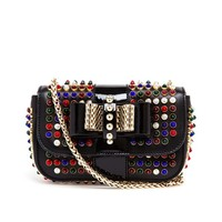 CHRISTIAN LOUBOUTIN | Glass Stud Sweet Charity Bag | Browns fashion & designer clothes & clothing