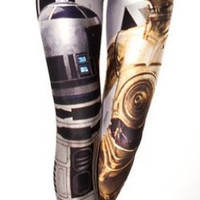 Star Wars Artoo & Threepio Leggings