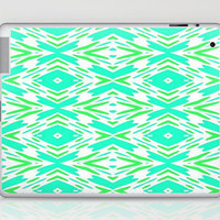 Aqua and Green...iPad Skin by Lisa Argyropoulos | Society6