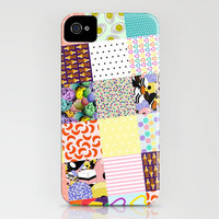 Sweet Shop Patchwork iPhone Case by Glanoramay | Society6