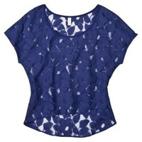 Xhilaration Juniors Lace Top - Assorted Colors