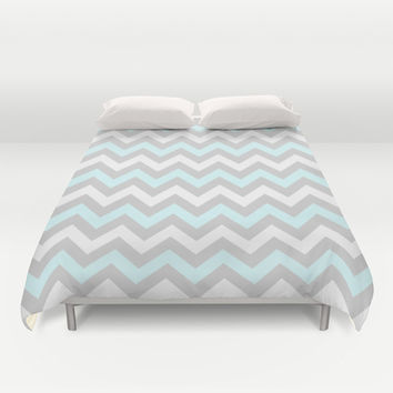 Chevron #5 Duvet Cover by Ornaart | Society6