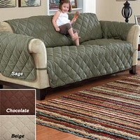 Deluxe Quilted Microfiber Furniture Protector @ Fresh Finds