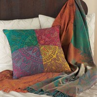 Agra Throw and Pillow - VivaTerra