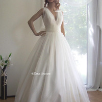 Juliet Vintage Inspired Bridal Ball Gown by ellanacouture on Etsy