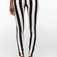 Motel Striped High-Rise Jean