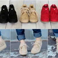 Cozy Cute Women's Moccasins!