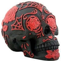 Tattoo Sugar Skull by Summit Collection (Black/Red)