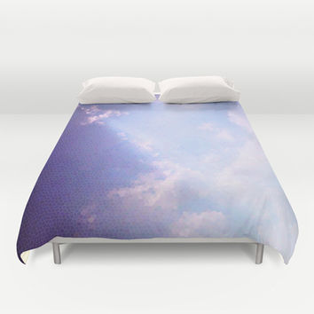 Clouds mosaic Duvet Cover by eDrawings38 | Society6