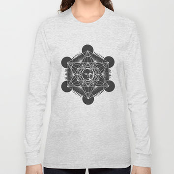Gnostic Dark Inversion Long Sleeve T-shirts by LOVEDART