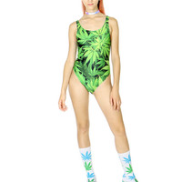 WEED SWIMSUIT