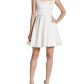 Nicole Miller - Strapless Bubble-Hem Dress