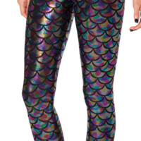Mermaid Jellybean Leggings