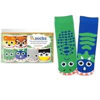 Boys Vs. Socks 3-Pack: Shark vs. Penguin, Lion vs. Tiger, T-Rex vs. Triceratops