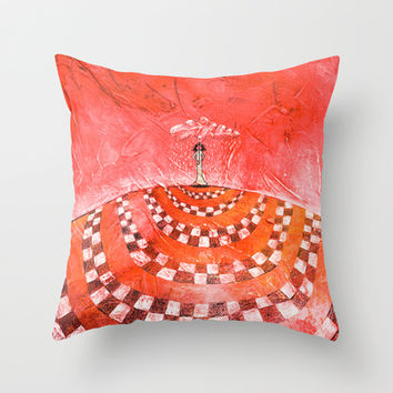 Somewhere Over the Rain Throw Pillow by Timone | Society6