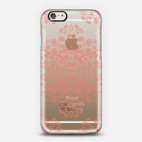 Coral Ambrosia Crystal Clear iphone case iPhone 6 case by Monika Strigel | Casetify