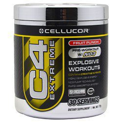 Cellucor C4 Extreme Fruit Punch 30 Servings, Performance