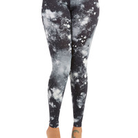 ModCloth Sci-fi Skinny Galaxy You Soon Leggings