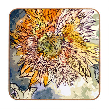 Ginette Fine Art Sunflower Prickly Face Wall Art