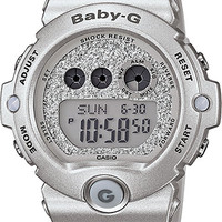G-Shock Baby-G BG6900SG-8 Super Glitter Silver Watch