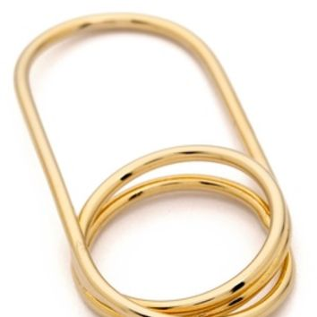 Jules Smith Safety Pin Knuckle Ring