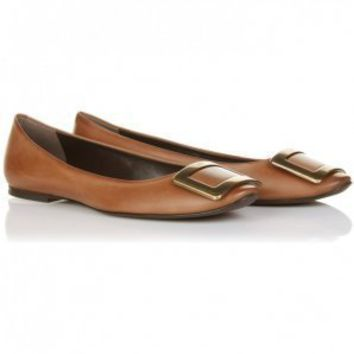 : Roger Vivier brown belle vivier ballerinas shoe : Australia Cheap roger vivier shoes online