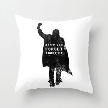 John Bender Doesn't Want You To Forget Throw Pillow by LookHUMAN | Society6