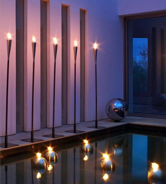 Floating Torch Lights by Bola