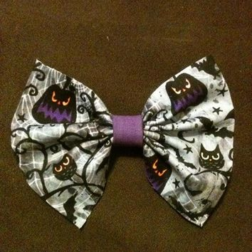 Halloween Hair Bow from Nicole Ray