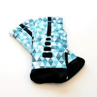 The Blues Collection Custom Nike Elite Printed Socks