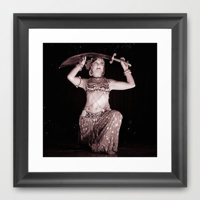 Cirque de Bijoux Framed Art Print by Vorona Photography | Society6