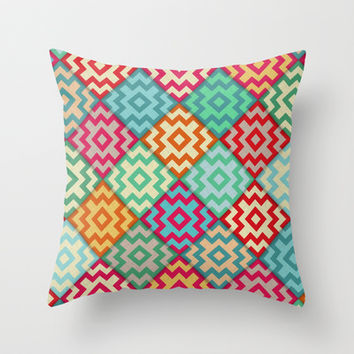 Marrakech Throw Pillow by Sharon Turner | Society6