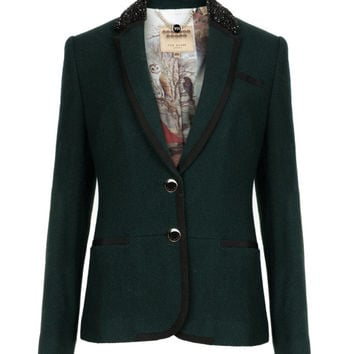 PREP STYLE BLAZER - Dark Green | Tailoring | Ted Baker UK